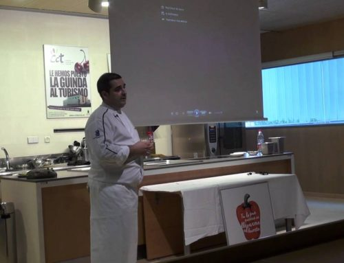 Talk between chefs erlantz gorostiza